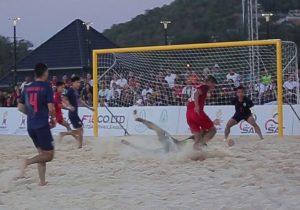 ฟุตบอลชายหาด